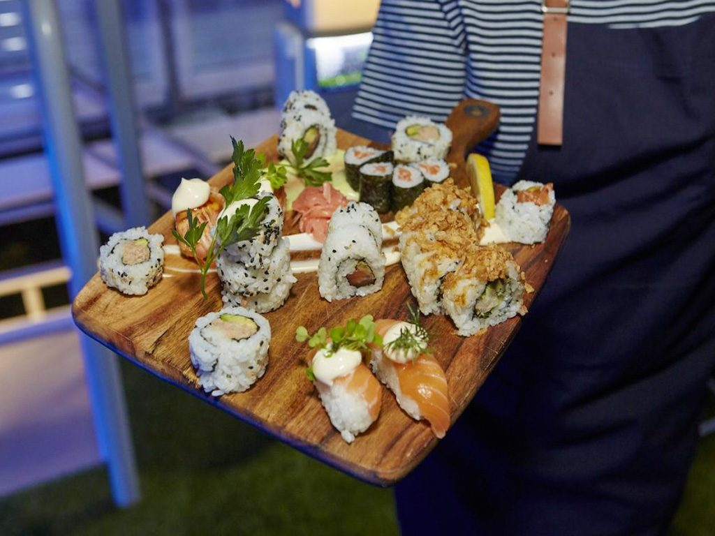 Top-quality canapes